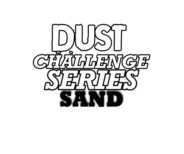 Dust Challenge Series Sand Challenge WHITE PNG